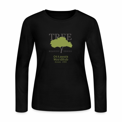 Tree Reading Swag - Women's Long Sleeve Jersey T-Shirt
