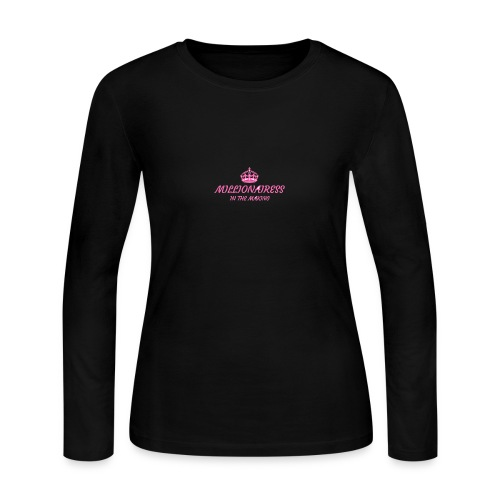Millionairess In The Making - Women's Long Sleeve Jersey T-Shirt