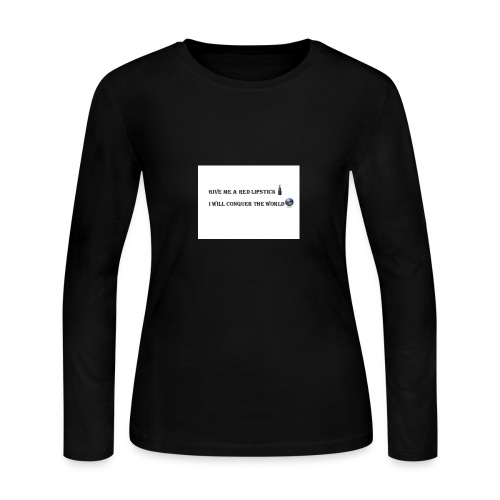 lip - Women's Long Sleeve Jersey T-Shirt