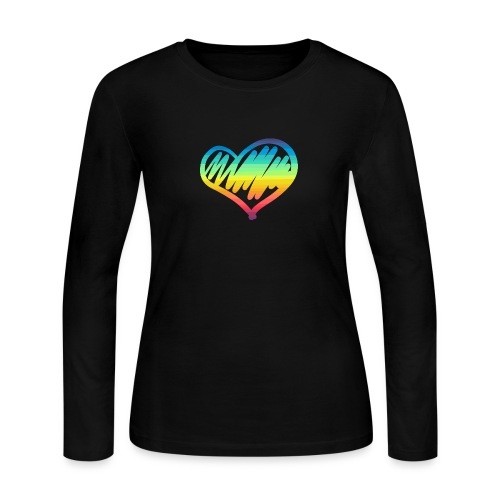 Pride Heart - Women's Long Sleeve Jersey T-Shirt