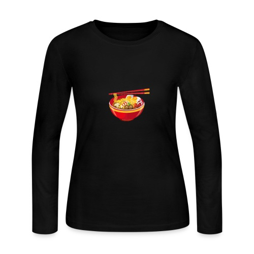 Asian Anthem 🥢|Slurp The Soup Collection| - Women's Long Sleeve Jersey T-Shirt