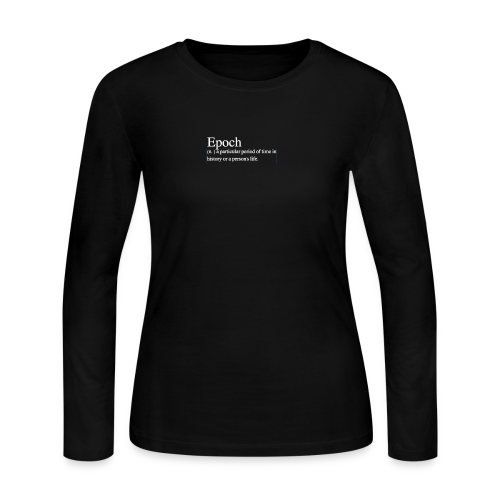 Epoch white - Women's Long Sleeve Jersey T-Shirt