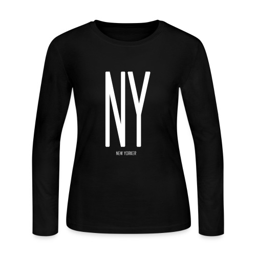 NEW YORKER - Women's Long Sleeve Jersey T-Shirt