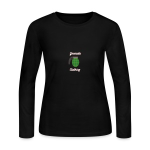 Grenade Clothing - Women's Long Sleeve Jersey T-Shirt