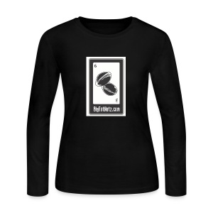 Big Fat Nutz - Women's Long Sleeve Jersey T-Shirt