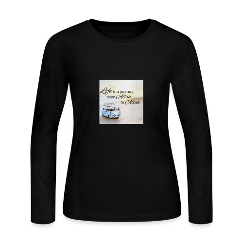 Life is a Journey - Women's Long Sleeve Jersey T-Shirt