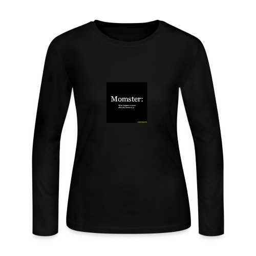 Momster - Women's Long Sleeve Jersey T-Shirt