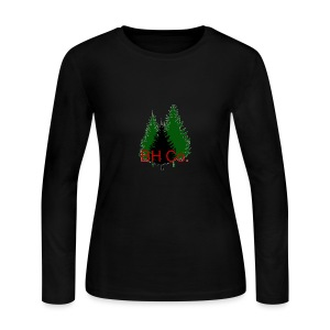 EVERGREEN LOGO - Women's Long Sleeve Jersey T-Shirt