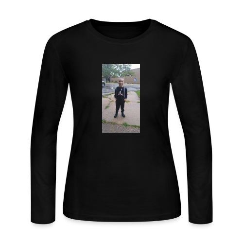 Angelo Clifford Merch - Women's Long Sleeve Jersey T-Shirt