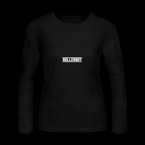 Exclusive ROLLERBOY NAME LABLEh - Women's Long Sleeve Jersey T-Shirt