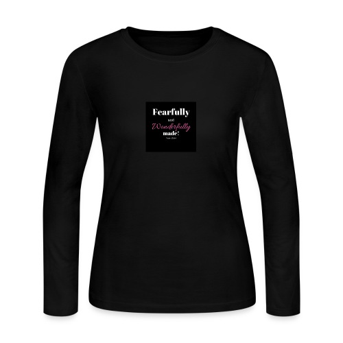 Fearfully and wonderfully made - Women's Long Sleeve Jersey T-Shirt