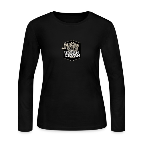 Urban Churn - Women's Long Sleeve Jersey T-Shirt
