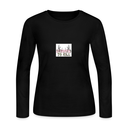 Dressed to Kill - Women's Long Sleeve Jersey T-Shirt