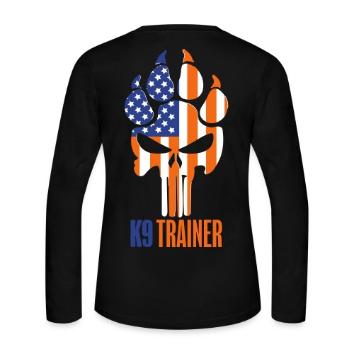 OLK9 Paw Punisher Trainer - Women's Long Sleeve Jersey T-Shirt