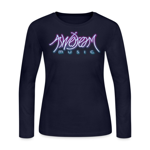 Glow Logo - Women's Long Sleeve Jersey T-Shirt