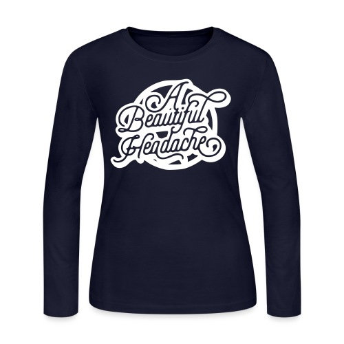 a beautiful headache - Women's Long Sleeve Jersey T-Shirt