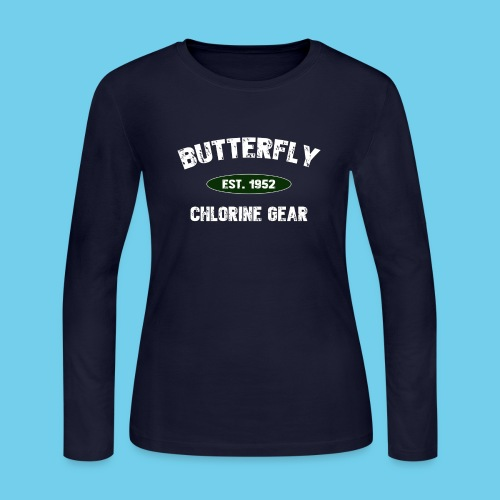 Butterfly est 1952-M - Women's Long Sleeve Jersey T-Shirt