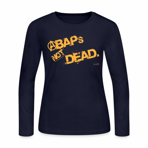 ABAPsNotDead orange - Women's Long Sleeve Jersey T-Shirt
