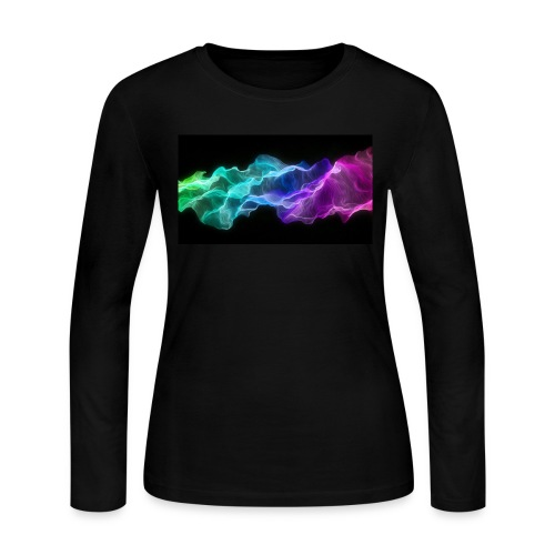 ws Curtain Colors 2560x1440 - Women's Long Sleeve Jersey T-Shirt