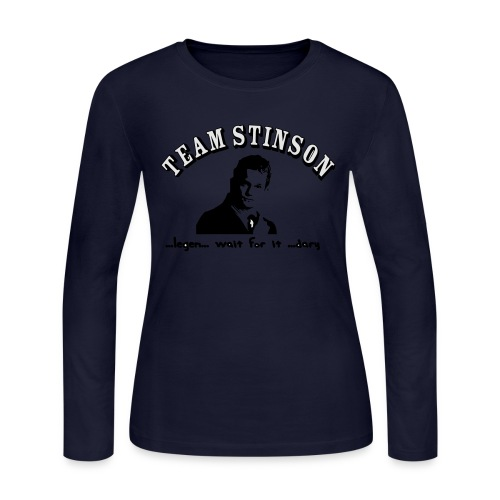 3134862_13873489_team_stinson_orig - Women's Long Sleeve Jersey T-Shirt