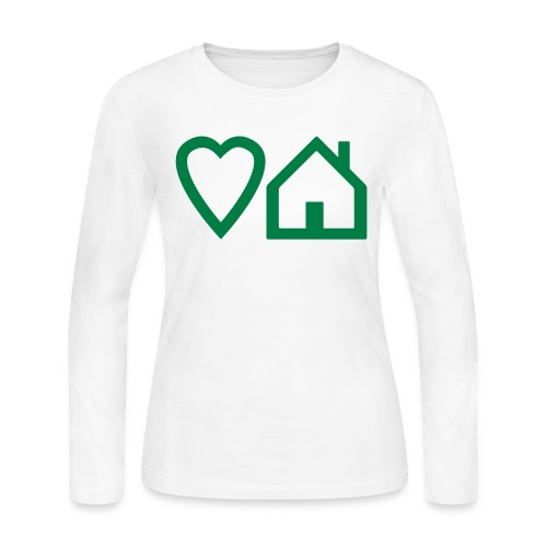 ts-3-love-house-music - Women's Long Sleeve Jersey T-Shirt