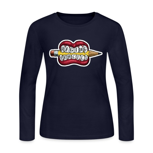 Raging Pencils Bargain Basement logo t-shirt - Women's Long Sleeve Jersey T-Shirt