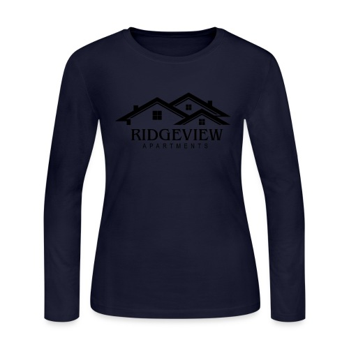 Ridgeview Apartments - Women's Long Sleeve Jersey T-Shirt