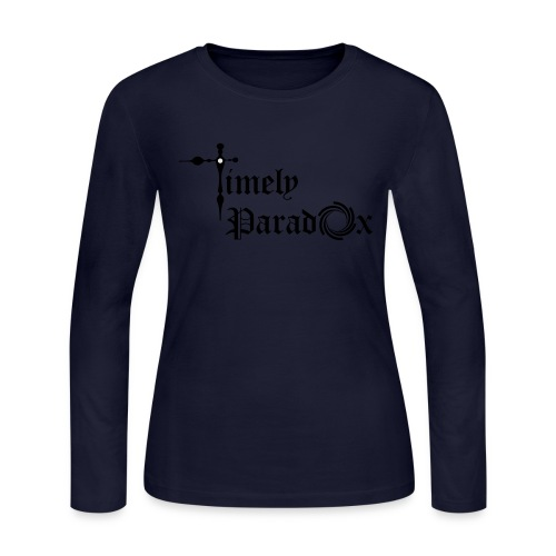 Timely Paradox - Women's Long Sleeve Jersey T-Shirt