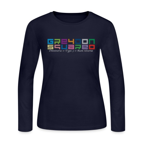 Greydon Square Colorful Tshirt Type 3 - Women's Long Sleeve Jersey T-Shirt