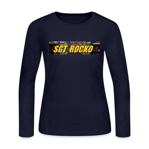 RockoWear Banner - Women's Long Sleeve Jersey T-Shirt