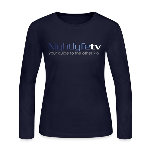 NTV Logo Full - Women's Long Sleeve Jersey T-Shirt
