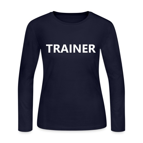 Trainer - Women's Long Sleeve Jersey T-Shirt