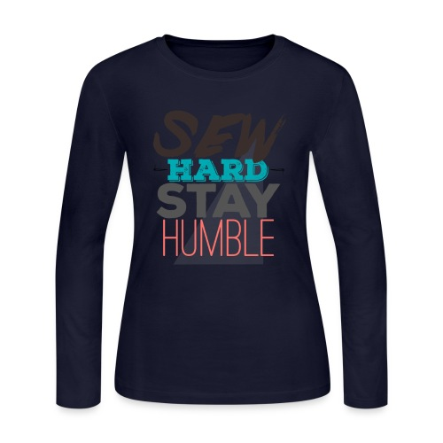 Sew Hard 2 - Women's Long Sleeve Jersey T-Shirt
