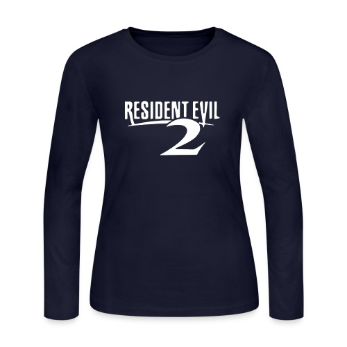 Resident Evil 2 REimagined RPD - Women's Long Sleeve Jersey T-Shirt