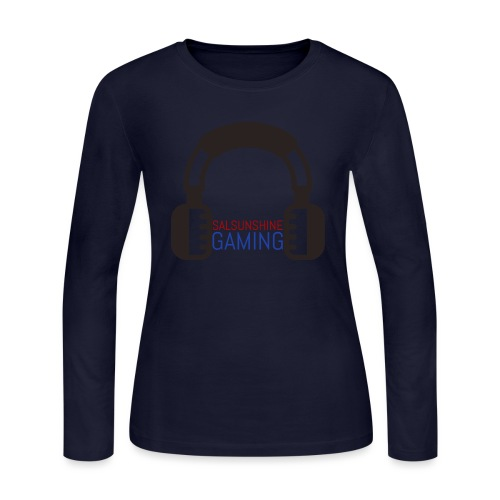 SALSUNSHINE GAMING LOGO - Women's Long Sleeve Jersey T-Shirt