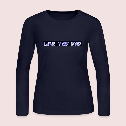 HAPPY FATHER'S DAY - Women's Long Sleeve Jersey T-Shirt