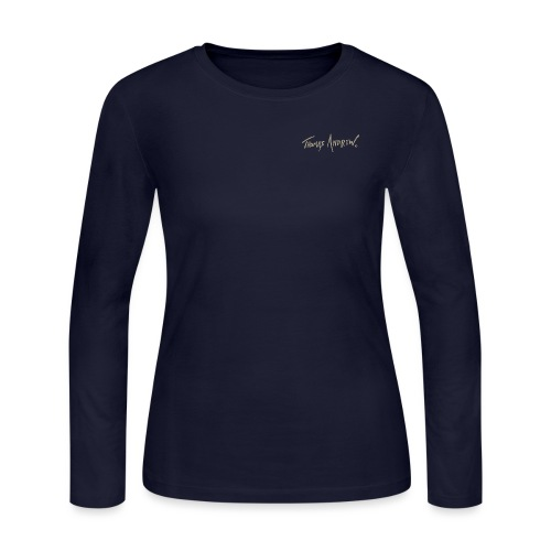 Thomas Andrew Signature_d - Women's Long Sleeve Jersey T-Shirt