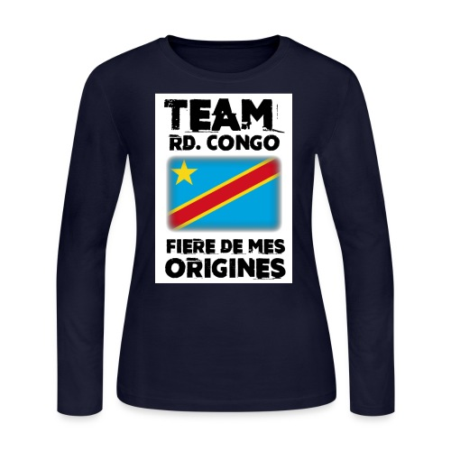 FDMO-8 - Women's Long Sleeve Jersey T-Shirt