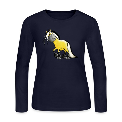 fjord horse - Women's Long Sleeve Jersey T-Shirt