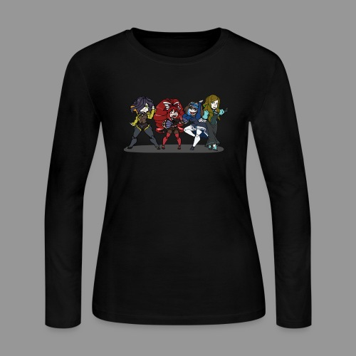 Chibi Autoscorers - Women's Long Sleeve Jersey T-Shirt