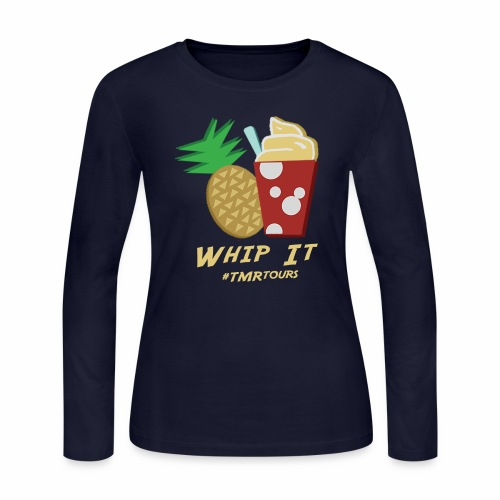 Whip It, Adventure - Women's Long Sleeve Jersey T-Shirt