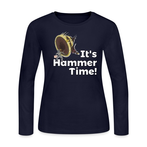It's Hammer Time - Ban Hammer Variant - Women's Long Sleeve Jersey T-Shirt