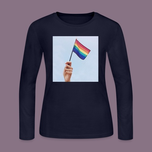 lgbt - Women's Long Sleeve Jersey T-Shirt
