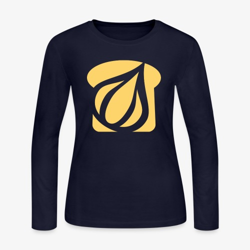 Garlic Toast - Women's Long Sleeve Jersey T-Shirt