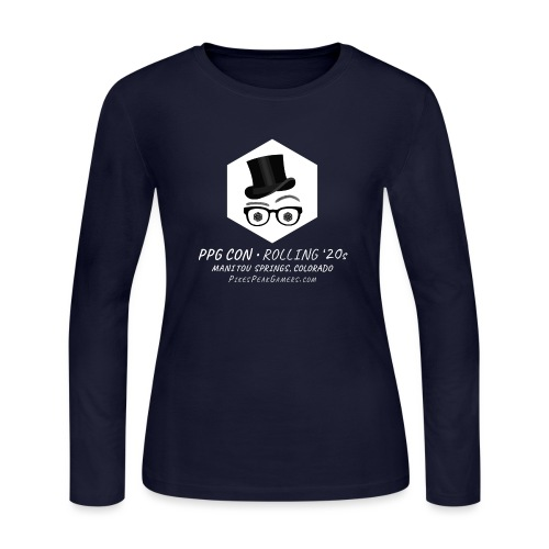 Pikes Peak Gamers Convention 2020 - Women's Long Sleeve Jersey T-Shirt