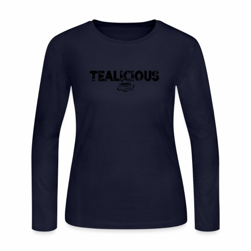 Tealicious - Women's Long Sleeve Jersey T-Shirt