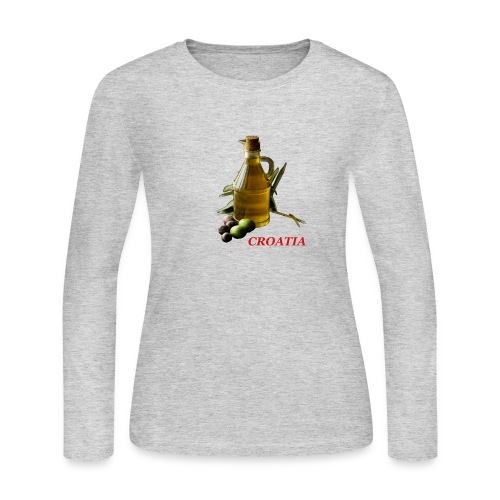Croatian Gourmet 2 - Women's Long Sleeve Jersey T-Shirt