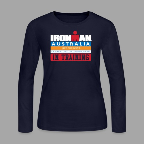 IRONMAN Australia alt - Women's Long Sleeve Jersey T-Shirt
