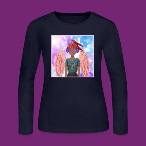 Angel dazed in love - Women's Long Sleeve Jersey T-Shirt