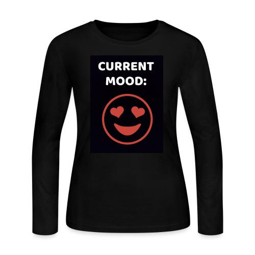 Love current mood by @lovesaccessories - Women's Long Sleeve Jersey T-Shirt
